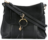 See by Chloe Joan shoulder bag - women - Cotton/Calf Leather/Calf Suede - One Size