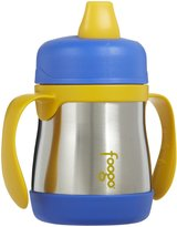 Green Baby Foogo by Thermos Insulated Sippy Cup w Handles - Blue/Gold - 7 oz