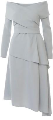 Triangle Light Grey Dress