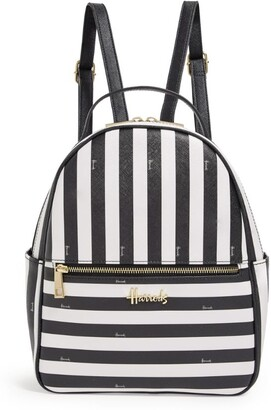Harrods Boutique Multi Stripe Backpack