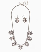 Charming charlie Francesca Multi-Drop Bib Necklace Set