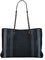 Bottega Veneta Double Chain Woven Tote Bag