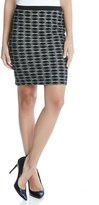 Karen Kane Women's Diamond Jacquard Skirt