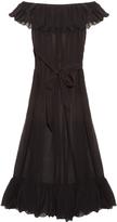 Marysia Swim Victoria cotton and silk-blend maxi dress