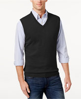 Club Room Men's Big and Tall Cashmere Solid Sweater Vest