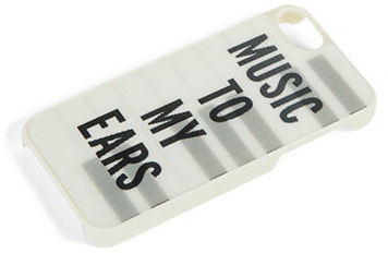 Kate Spade Text Graphic iPhone Case