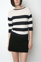 Lark & Wolff by Steven Alan Stripe Boatneck Sweater