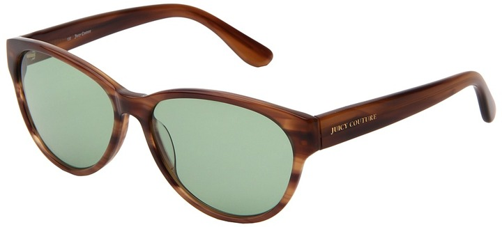 Juicy Couture Juicy 523/S (Shiny Tortoise/Green Merlot) - Eyewear