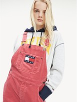 Tommy Hilfiger Washed Corduroy Overall Dress