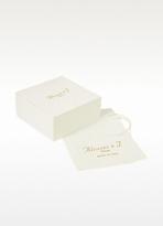 Alcozer & J Flower Crystal Clip-On Earrings