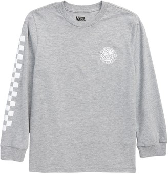 Vans Kids' Checker Palms Long Sleeve Graphic Tee