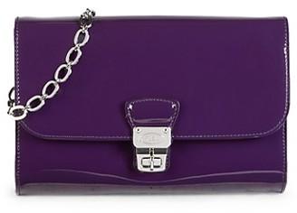 Tod's Picolla Patent Leather Crossbody Bag