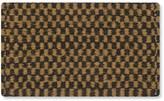 Williams-Sonoma Checked Black & Coir Doormat