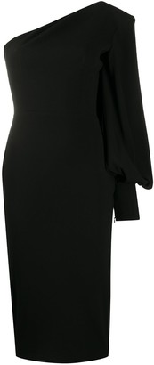 Alex Perry Warner one-sleeve dress