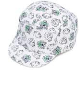 Kenzo tiger & lion print cap