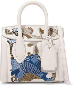 Alexander McQueen Heroine Embellished Leather Shoulder Bag