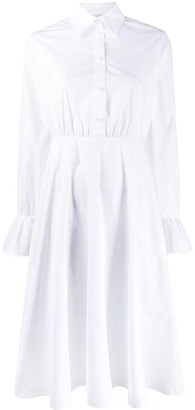 Valentino Flared Midi Shirt Dress