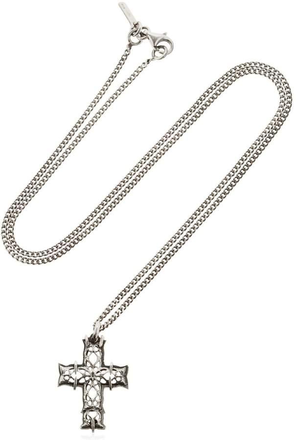 Emanuele Bicocchi Cross Necklace