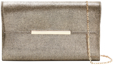 Accessorize Fiona Shimmer Foldover Clutch Bag