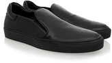 Soulland Dog Black Leather Slip-On Sneaker