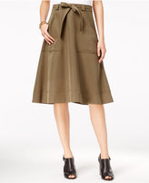 Tommy Hilfiger Nancy A-Line Utility Skirt, Only at Macy's