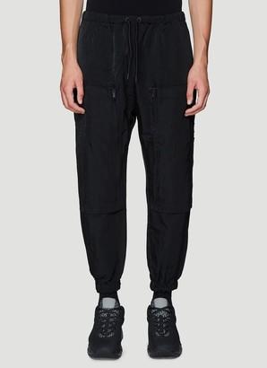 Marcelo Burlon County of Milan Pocketed Drawstring Pants
