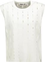 McQ by Alexander McQueen Cutout stretch-knit top