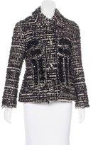 Simone Rocha Embellished Tweed Jacket w/ Tags