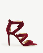 Ann Taylor Thea Suede Bow Sandals
