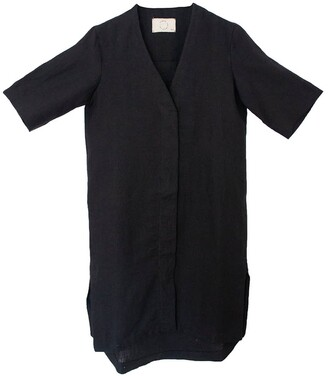 Trace Collective The Shirt Dress in Black