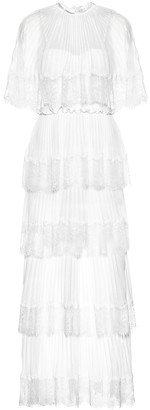 Self-Portrait Exclusive to Mytheresa a Tiered crApe dress