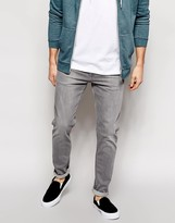 Weekday Jeans Friday Skinny Fit Gray