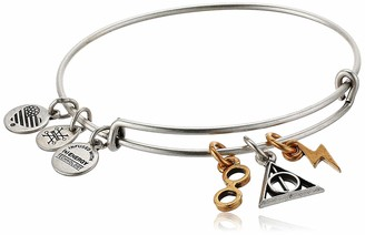 Alex and Ani Harry Potter Deathly Hallows Multi Charm EWB Two Tone RS/RG