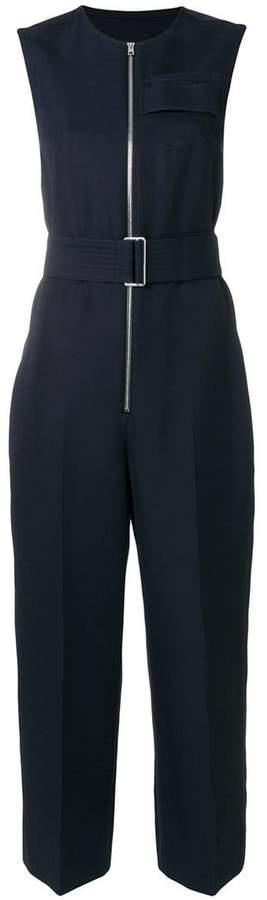 Victoria Beckham belted zipped jumpsuit