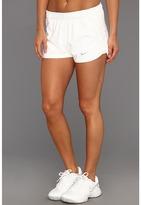 Nike Power Short (White/Matte Silver) - Apparel