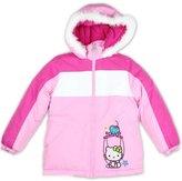 Hello Kitty Girls Winter Puffer Jacket / Coat