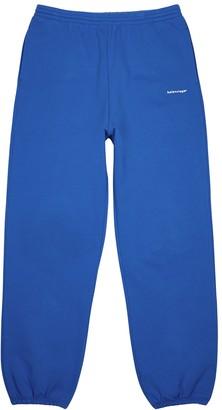 Balenciaga Copyright blue cotton sweatpants