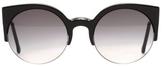 RetroSuperFuture Super Sunglasses Lucia Black
