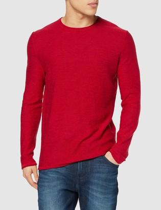 ONLY & SONS Men's ONSGARSON 12 Melange Crew Neck Knit Sweater