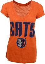 Majestic Women's Short-Sleeve Charlotte Bobcats V-Neck T-Shirt