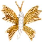 Tiffany & Co. Diamond Butterfly Brooch
