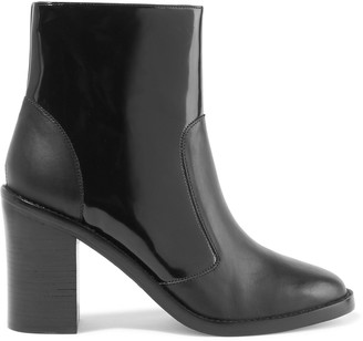 Zimmermann Smooth And Patent-leather Ankle Boots