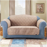 Sure Fit Quilted Suede Loveseat Pet Cover