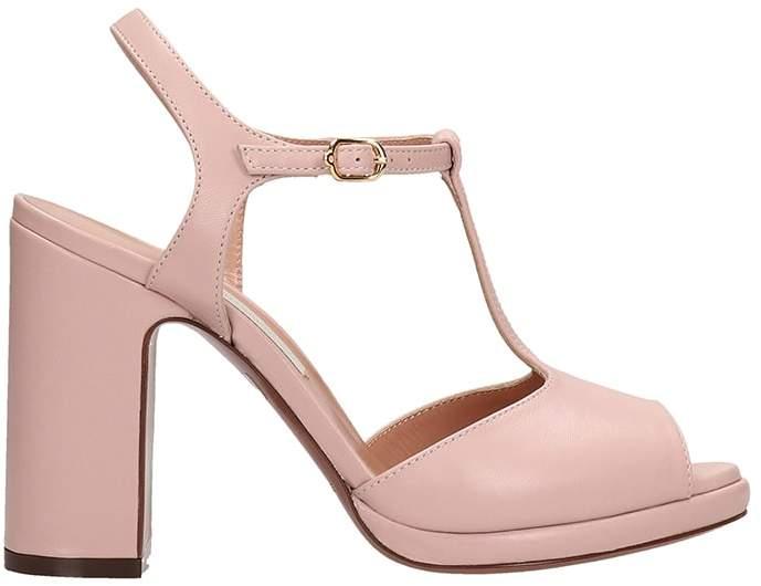 d9c5b6c7fc3 Lautre Chose LAutre Chose Pink Leather Sandals