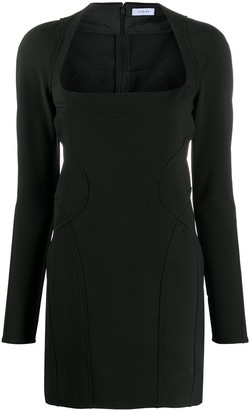 Thierry Mugler Contour Mini Dress