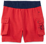 Ralph Lauren Cotton Terry Cargo Short