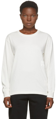 Alexander Wang Off-White Foundation Long Sleeve T-Shirt