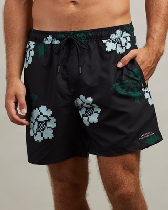 Saturdays NYC Timothy Rose Swim Shorts