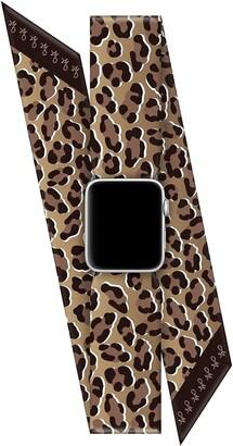 Wristpop Classic Leopard 38mm/40mm Apple Watch Scarf Band