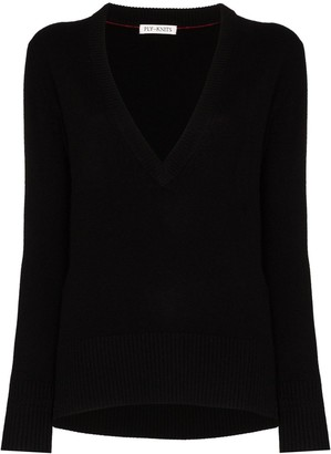 Ply Knits V-neck cashmere sweater